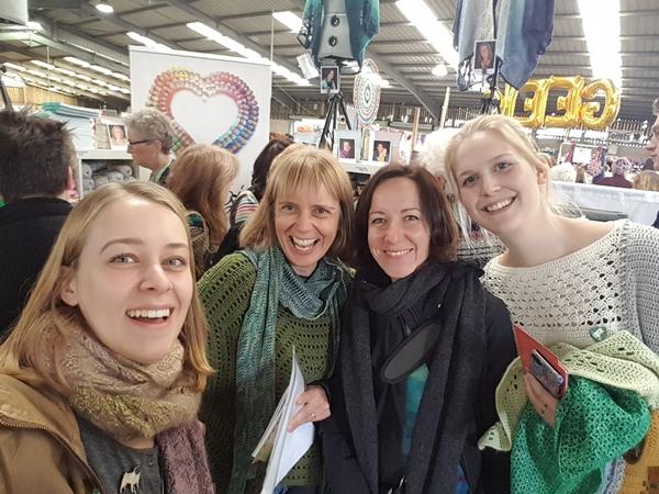 Scheepjes Bloggers go to Yarndale 2018