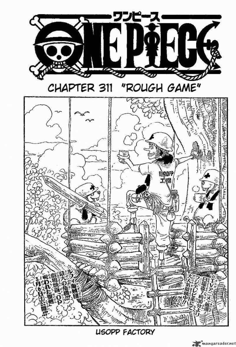 One Piece Ch 311