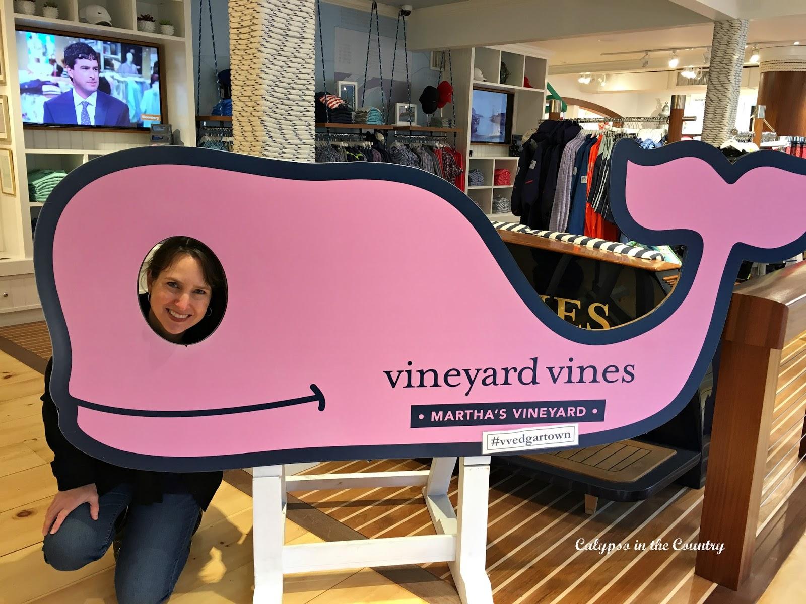 Vineyard Vines store in Edgartown, Martha's Vineyard