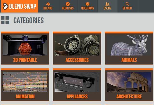 Tempat Terbaik Download Perlengkapan Blender, Bikin Project Semakin Mudah