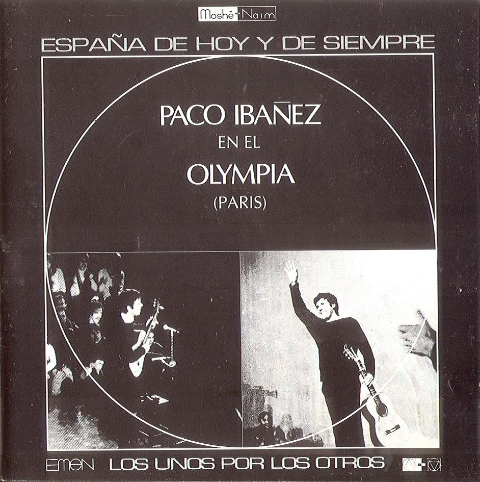 Vamos Tiquicia Paco Ibáñez 1969 Paco Ibáñez En El Olympia