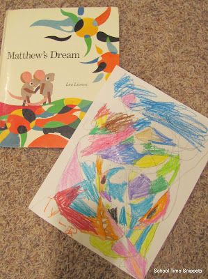 Matthew's Dream Art Project