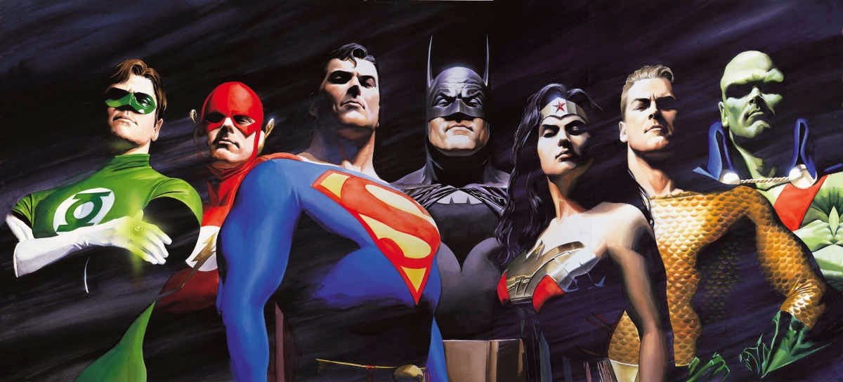Consider, that alex ross justice league know