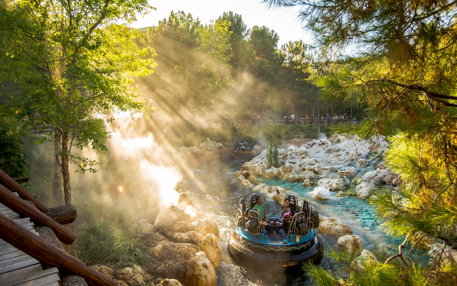 Golden Grizzly River Run
