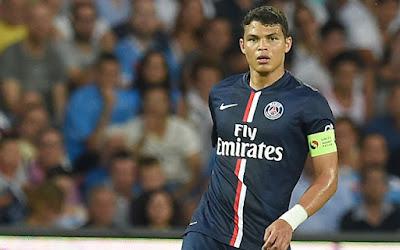 Thiago Silva có thể khoác áo Chelsea vào mùa Đông