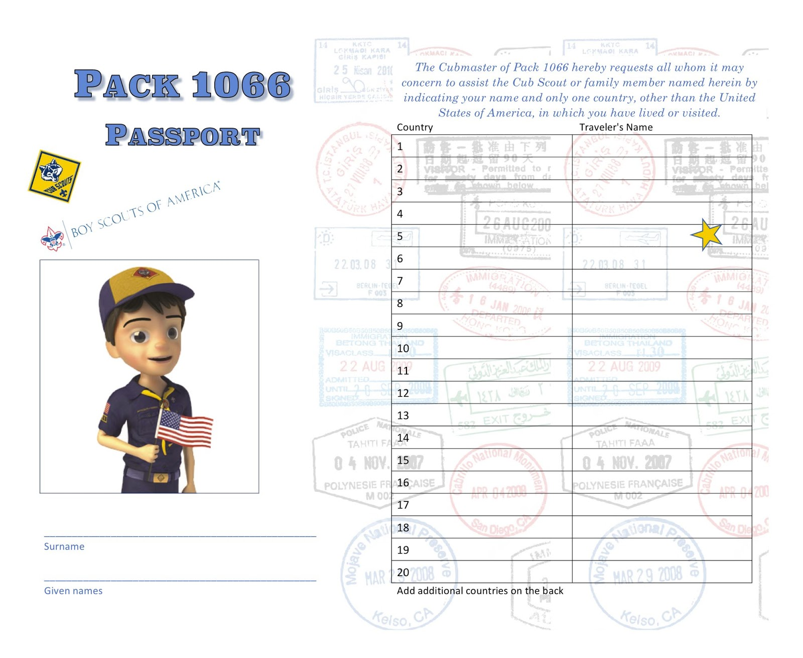 Akela S Council Cub Scout Leader Training Printable