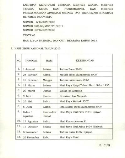 Surat-Keputusan-Bersama-skb-3-menteri-republik-indonesia-tentang-libur-nasional-cuti-bersama-tahun-2013-format-jpg-png