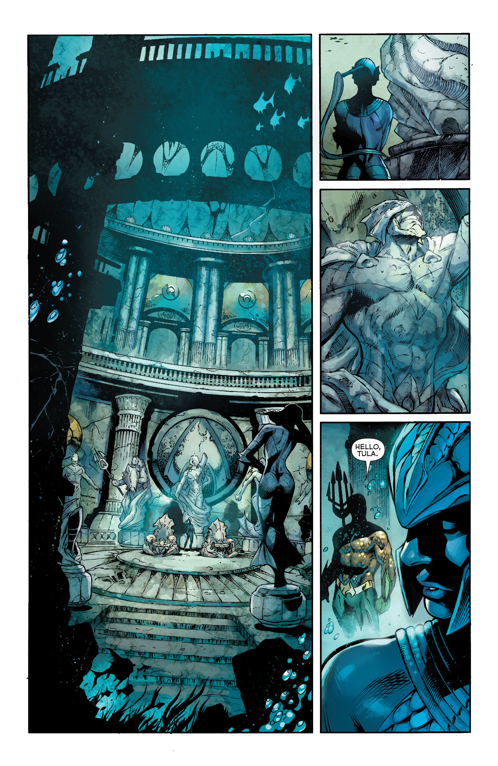 Read online Aquaman (2011) comic -  Issue #18 - 9