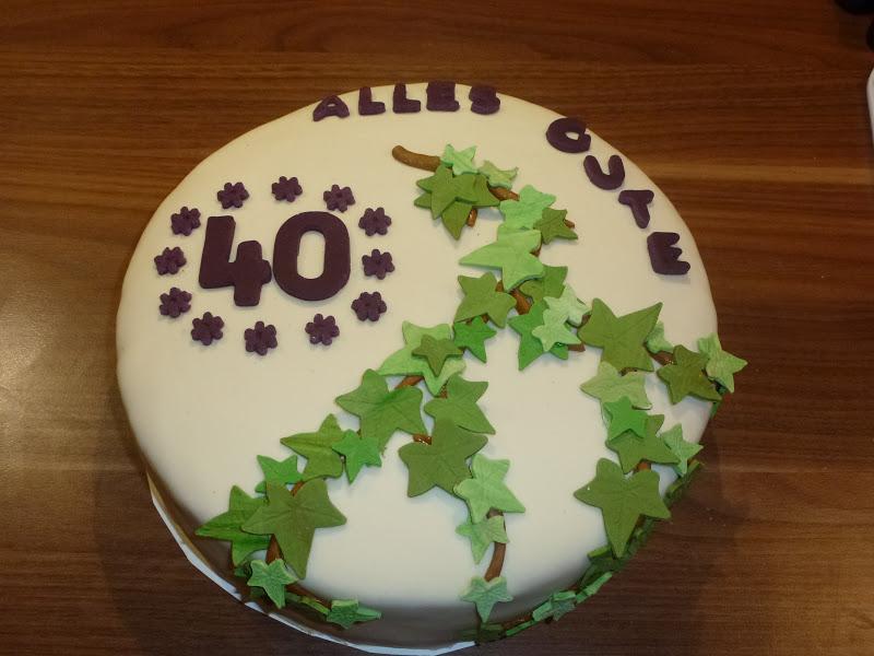 Sturiana Torte Zum 40 Geburtstag
