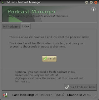 Podcast no Player Pmusic