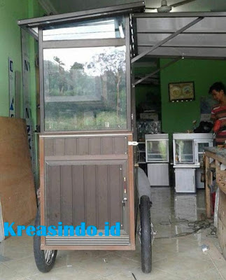 Jasa Gerobak Ayam Bakar Alumunium di Jabodetabek Harga bersaing
