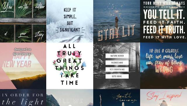 word-swag-Aplikasi Android Terbaik untuk Menambahkan Teks ke Foto Anda