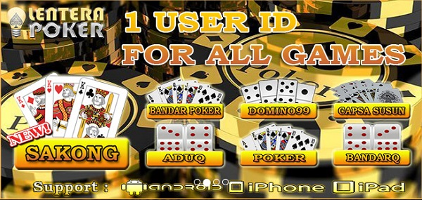 1 id all games lenterapoker agen bandarq