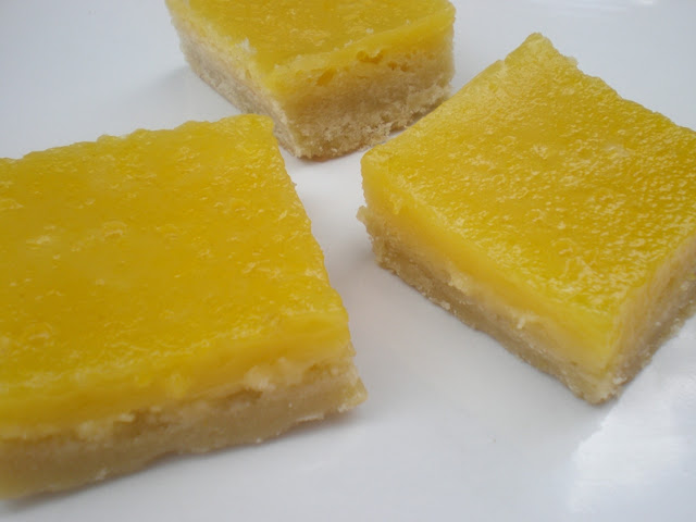 Hummingbird Bakery Lemon Bars