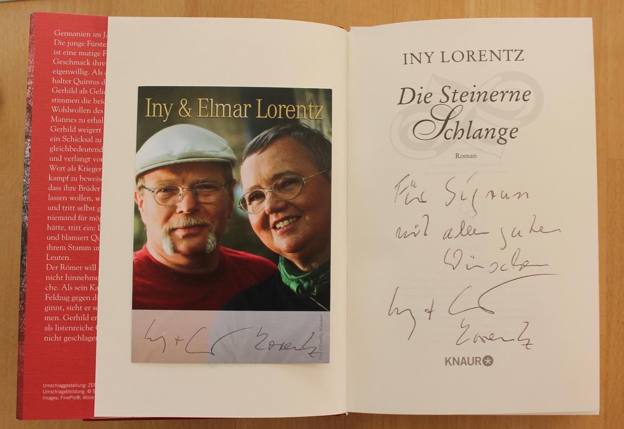 Autogramm Iny /& Elmar Lorentz
