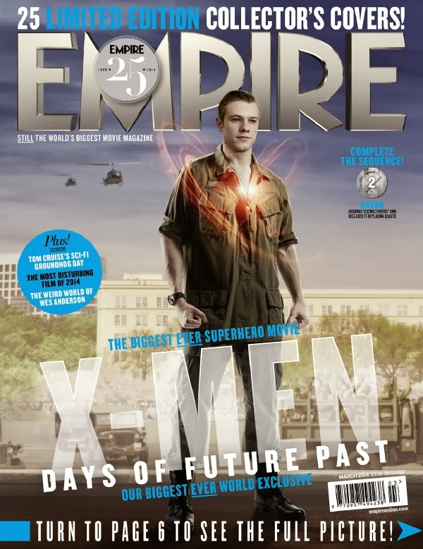 Empire covers X-Men: Days of Future Past: Havok