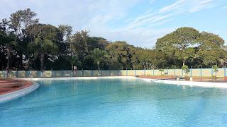 piscina no Parque Municipal Santa Rita Passa Quatro