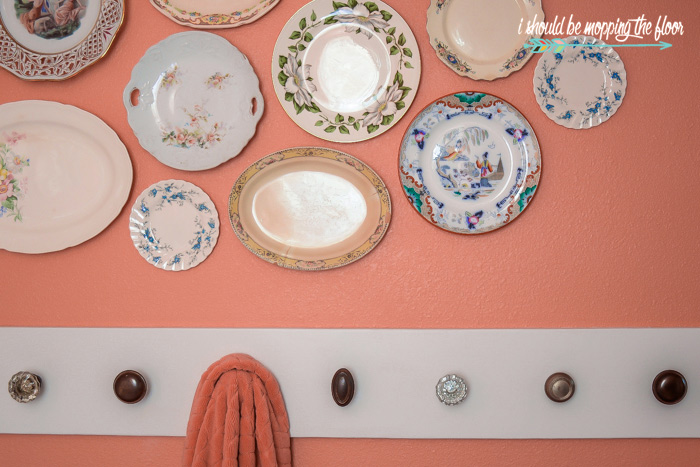 Chinoiserie Plate Wall
