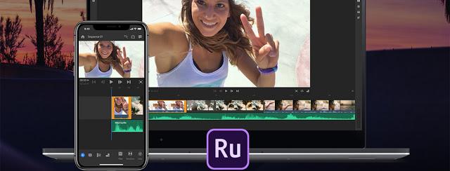 شركة Adobe تطلق تطبيق لتحرير الفيديو لهواتف الأندرويد وكن أول من يجربه Adobe Premiere Rush