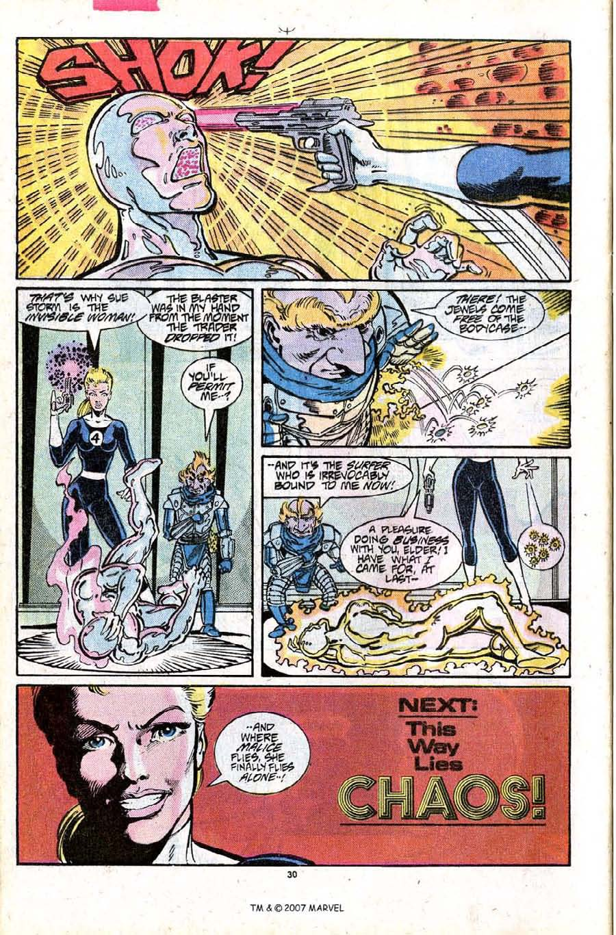 Read online Silver Surfer (1987) comic -  Issue #15 - 32