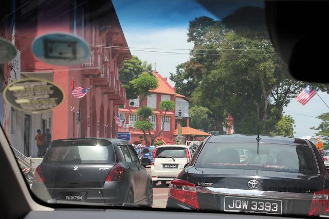 Malacca Melaka Red Building