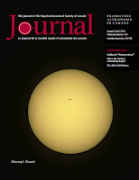 cover of the RASC Journal 2016 August