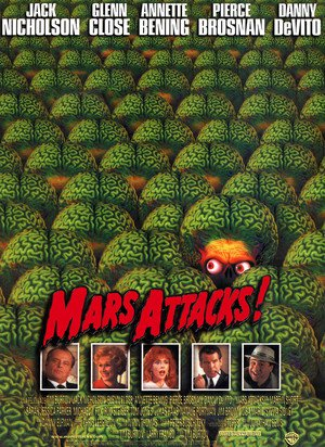 Poster Mars Attacks! 1996