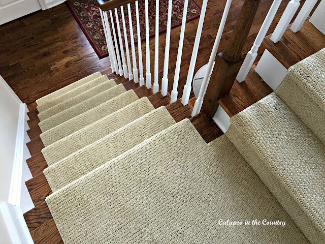 Sisal Substitute for Stairs and 10 Most Popular Posts of the Year