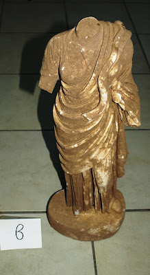 Αρχαιοκάπηλοι ήθελαν να πουλήσουν για μισό εκατ. ευρώ το άγαλμα της θεάς Υγείας