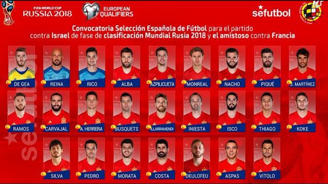 Timnas Spanyol Akan Bermain Tanpa Morata Di Fifa World Cup Russia 2018