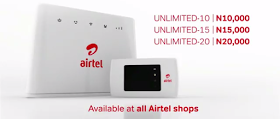 2018 Airtel Latest List of Data Plans and Prices