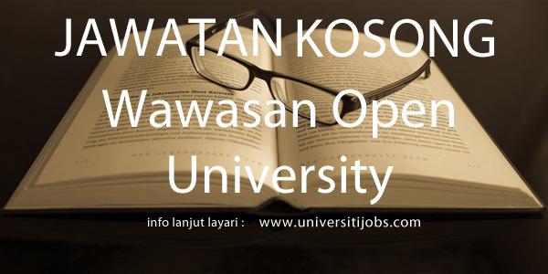 Jawatan Kosong Wawasan Open University 2016