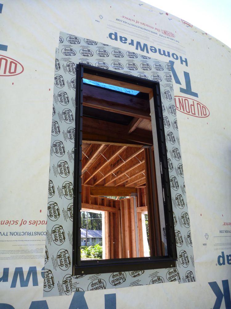 Hawaii House Build Window Installation