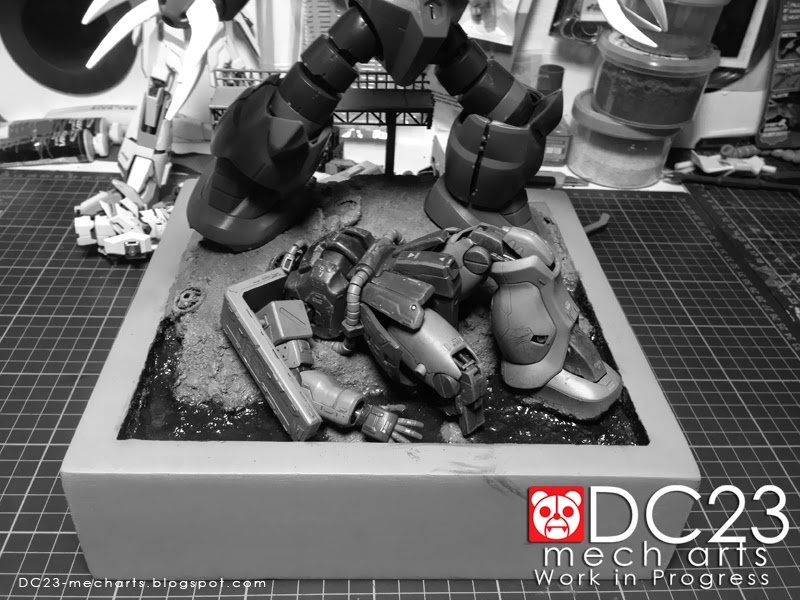 MG Z'Gok Diorama WIP 061114photo