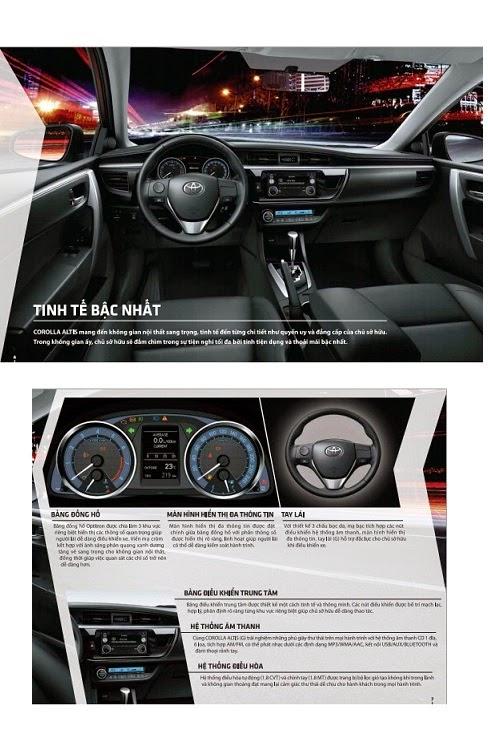 toyota altis 2015 toyota tan cang 8 - Toyota Corolla Altis 2014 - 2015: Đột phá ấn tượng - Muaxegiatot.vn