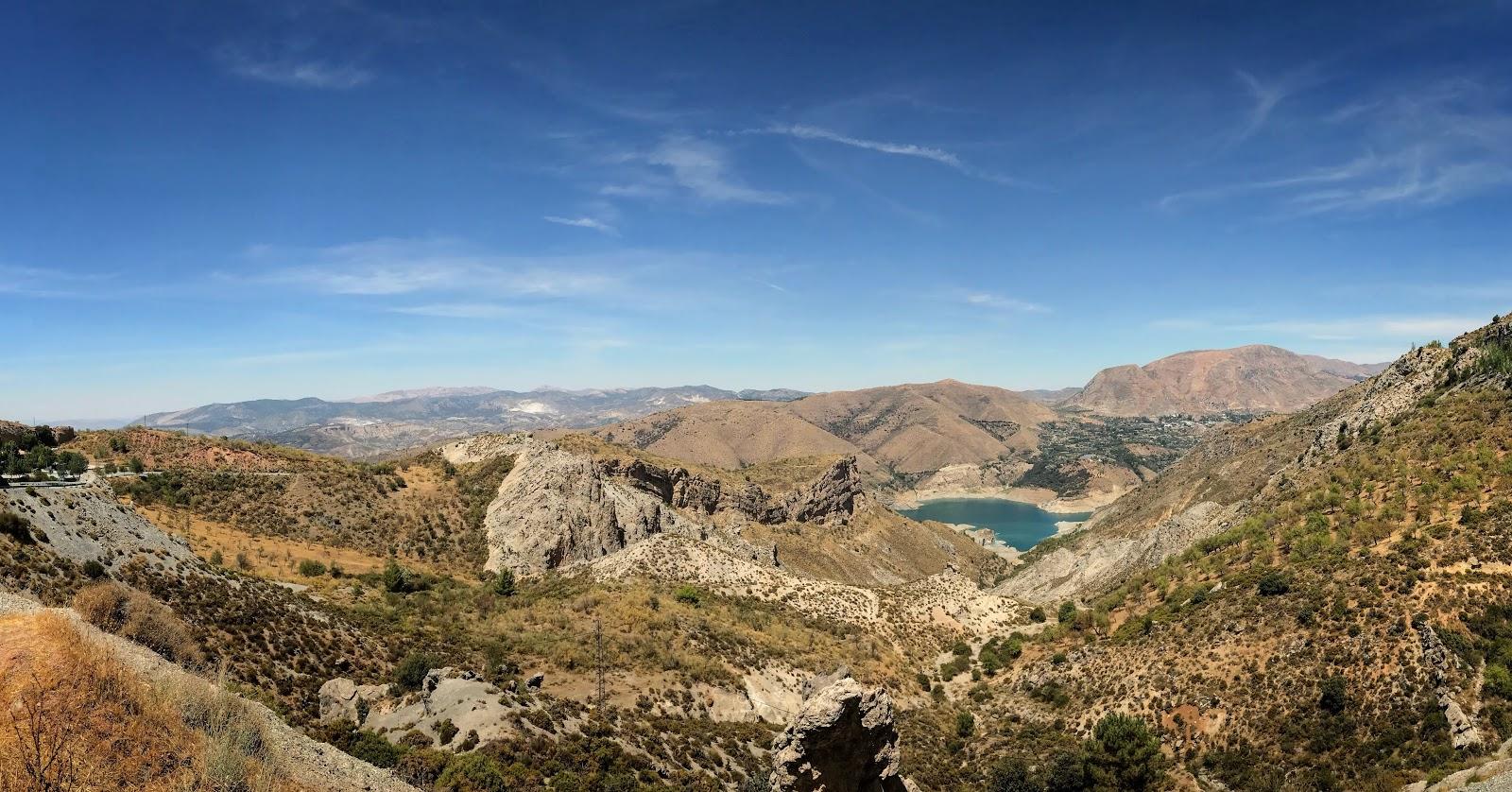 Moto Euro Trip 2017: z UK na Gibraltar - dzień 7, część 1 - PICO DEL VALETA w górach Sierra Nevada - najwyższa droga Europy