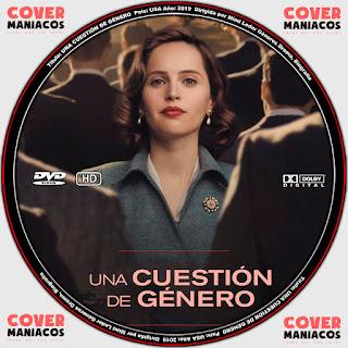 On the Basis of Sex - UNA CUESTION DE GENERO 2019 [ COVER DVD]GALLETA