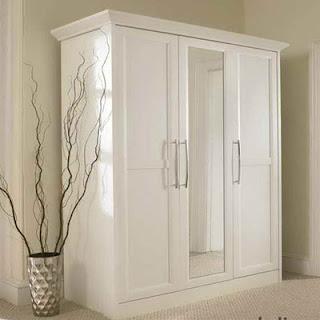 contoh gambar lemari pakaian minimalis mewah