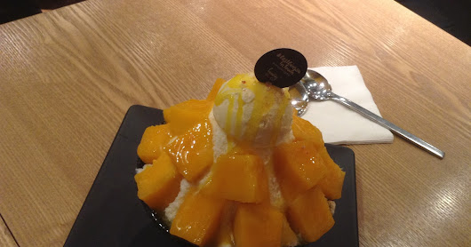 Ais Salji/Snow Ice/Bingsu at Hanbing Restaurant, IOI City Mall Putrajaya [Mesti Cuba]
