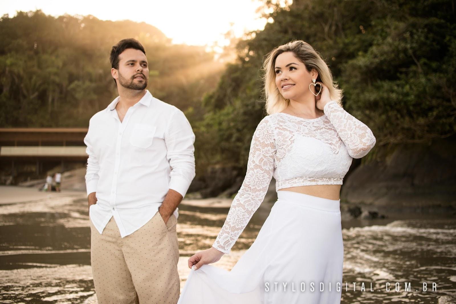 Jessica + Filipe - Pré Wedding Pré Wedding Praia de Iporanga