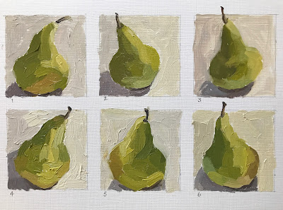 Pears Speed Painting