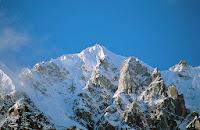 Hkakabo Razi mountain holiday glazed with snow