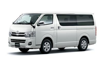 Sewa Toyota Hiace di Bandung Armada Sendiri