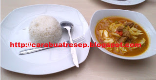 CARA MEMBUAT TONGSENG KAMBING SANTAN PEDAS | Resep Masakan Indonesia