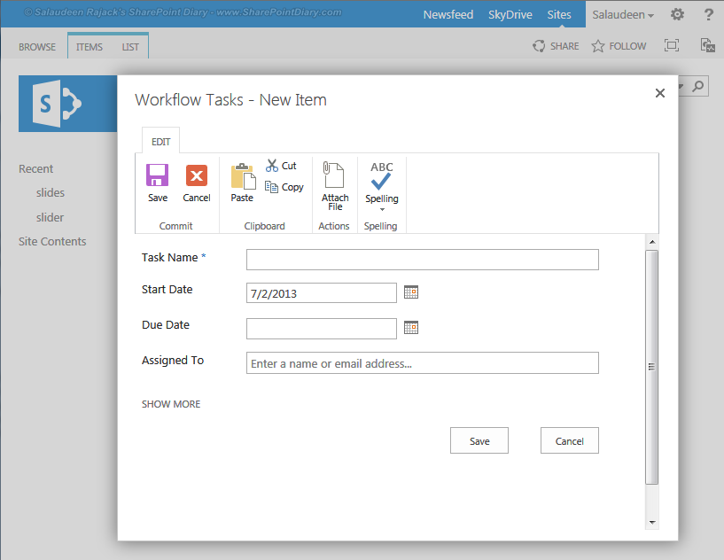 sharepoint 2013 open list forms in modal dialog window