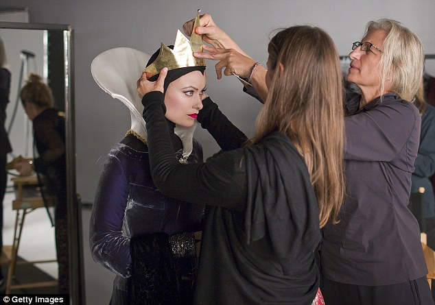 A Rainha Má de Branca de Neve - Annie Leibovitz