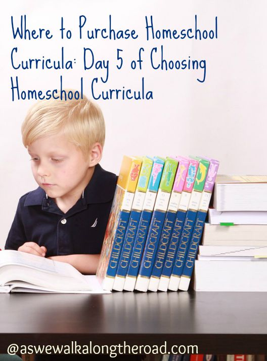 Resources for purchasing homeschool curricula