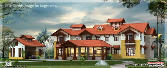 Super luxury Kerala house