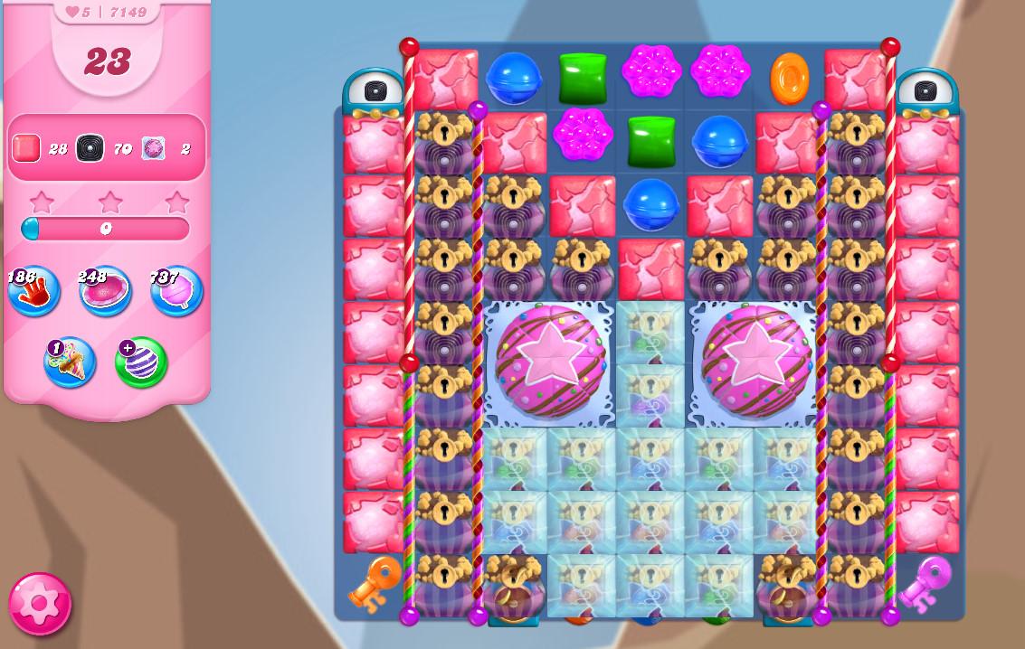 Candy Crush Saga level 7149