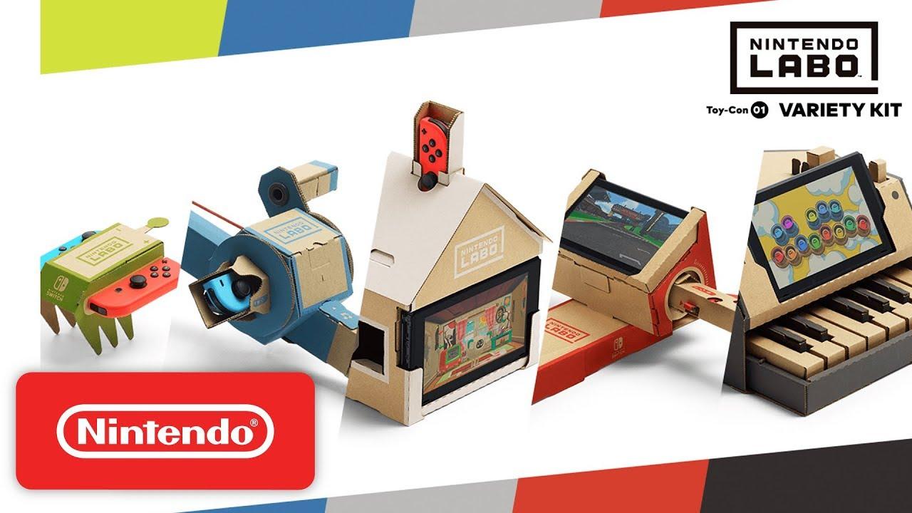 Nintendo Labo (Switch)  disponíveis peças de reposição para os acessórios -  Nintendo Blast 644091acd3f01